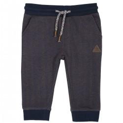 Pantalón tipo pants azul