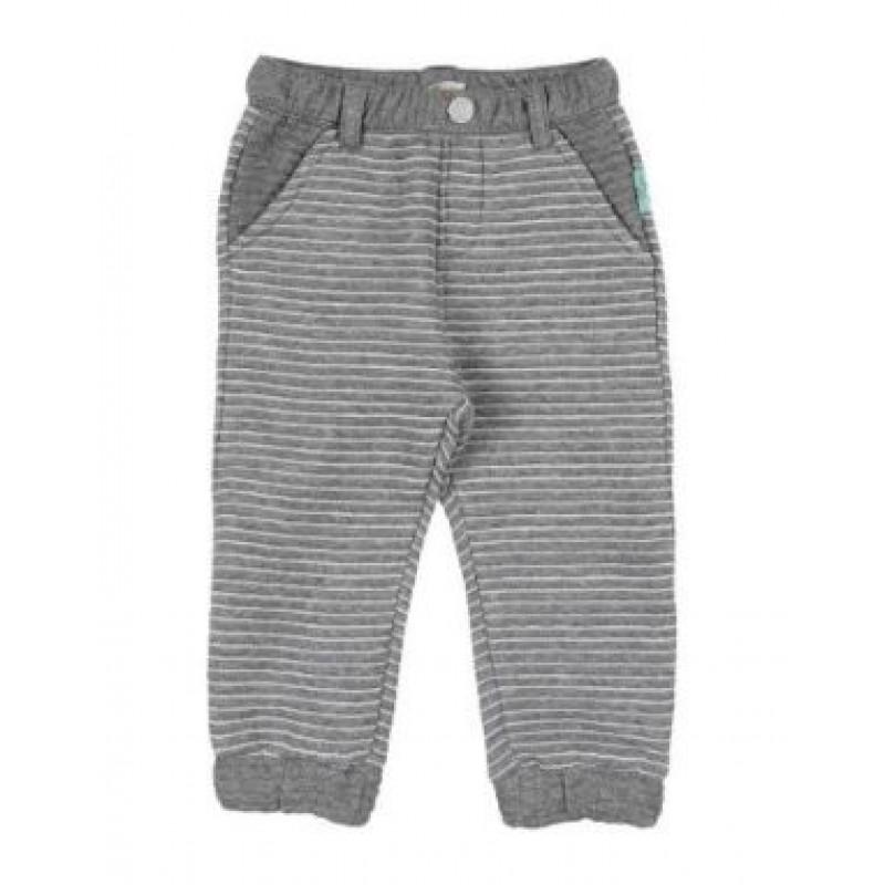 Pantalón tipo pants color gris