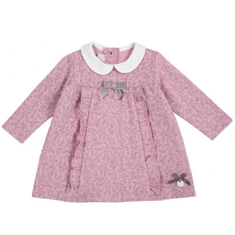 Vestido m/l rosado