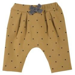 Pantalón niña con puntos
