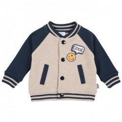Suéter tipo cardigan para niño