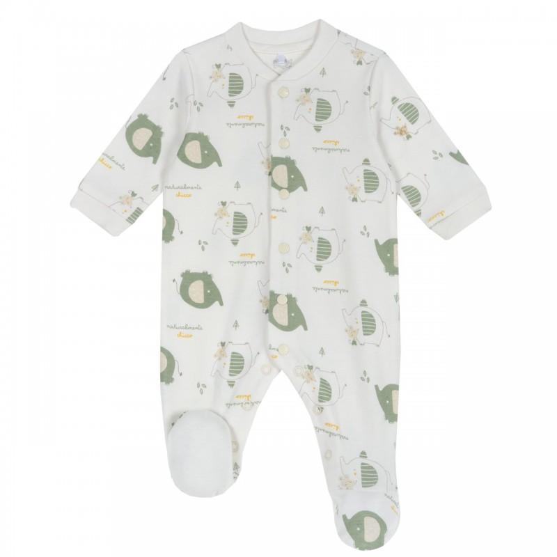 Pijama con diseño de elefantes (unisex)